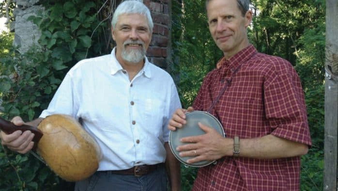 Rick Ceballos and Matt Witten present an evening of folk music in Brandon