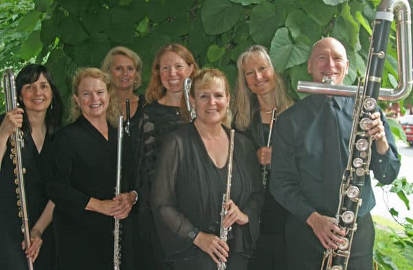 Vermont Virtuosi presents a full array of flutes at Brandon Music