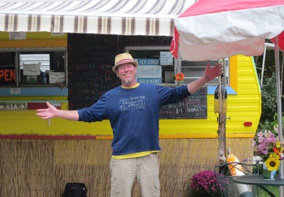 """Chef Brad"" taps into his Crazy Side, in Hartland"