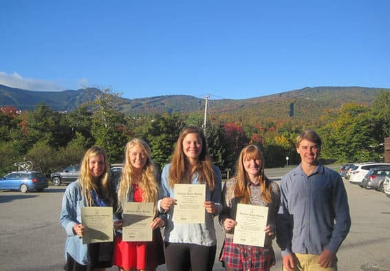 KMS students inducted into the National Honor Society