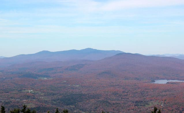 Explore high peak routes for foliage