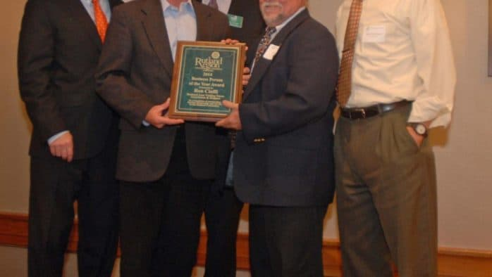 Rutland Chamber names Ron Cioffi Business Person of the Year