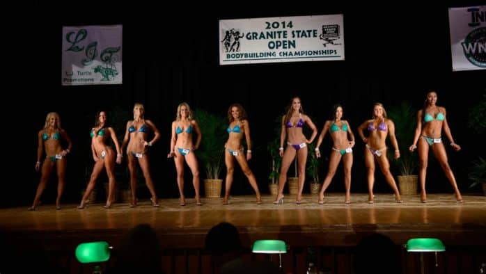 Cushman discovers confidence in bikini fitness competition