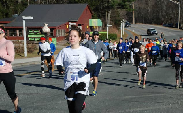 Burn off extra calories before you indulge or trot it off after Turkey Trots across the region
