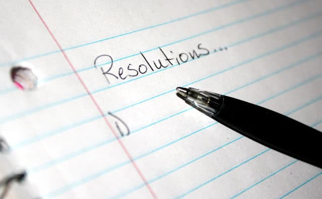 Fail-proof New Year's resolution planning for health, part one