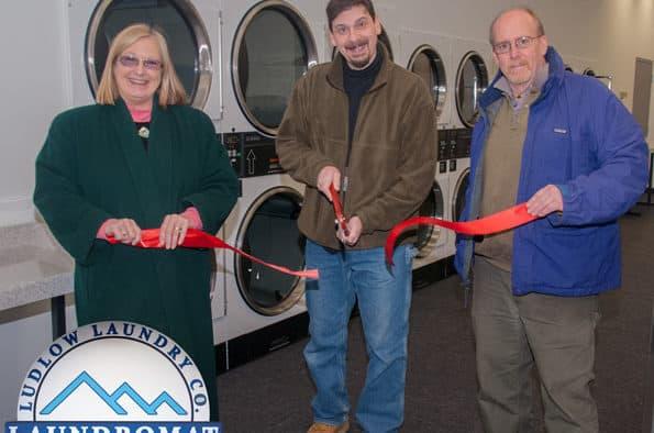 New laundromat opens