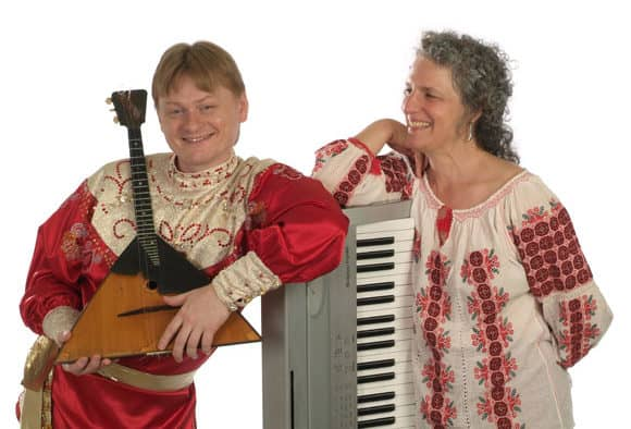 Russian Duo to perform soulful passionate music in Brandon Saturday evening
