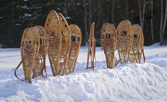 Tour Marsh-Billings-Rockefeller National Historical Park on snowshoes