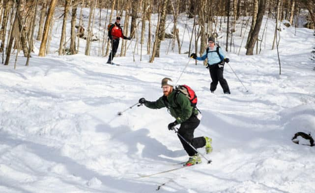 Telemark clinic offered at Pico, with PSIA instructor John Tidd