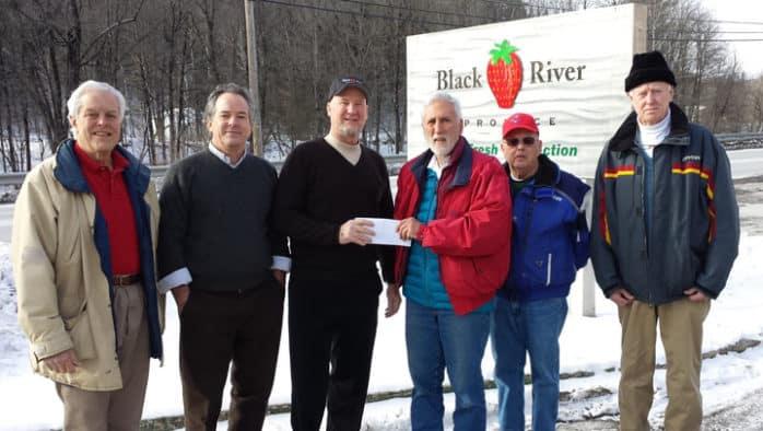 Black River Produce donates land to food shelf