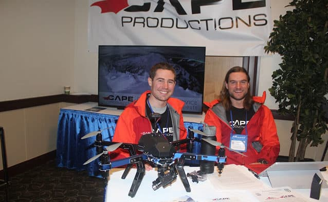 Drones toaid ski areaoperations?