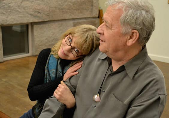 Fred Barnes and Sarah Stone give a romantic performance on Valentine's Day at Brandon Music