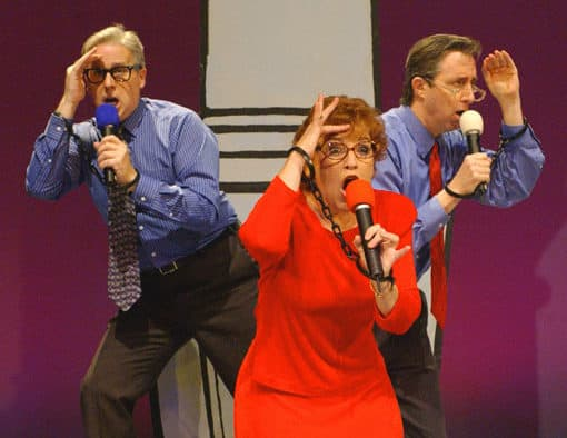 The Capitol Steps returns to the Paramount Theatre with fresh political humor