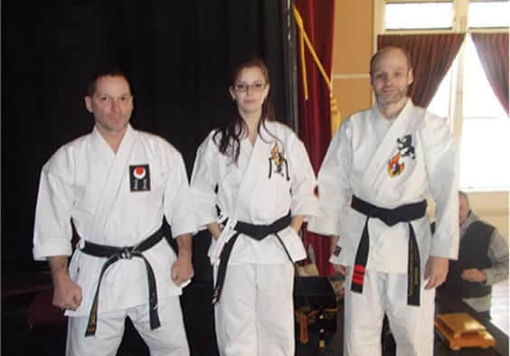 Legend Karate promotes first ever female Shodan Black Belt