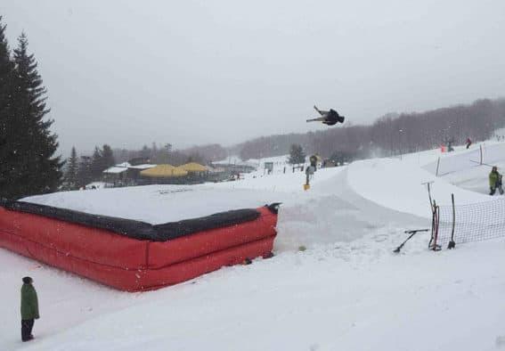 KMS bag jump to become four-season training venue