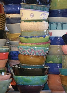 Soup Bowls for Hunger serves up its ninth year