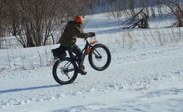 """Rollin' Fatties"" Fat Bike event"