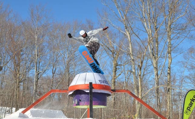 Big air and park tricks were on display at the Neff Land Space Jam, Saturday