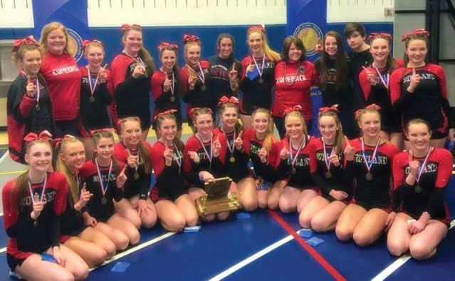 Rutland Cheerleaders win New Englands