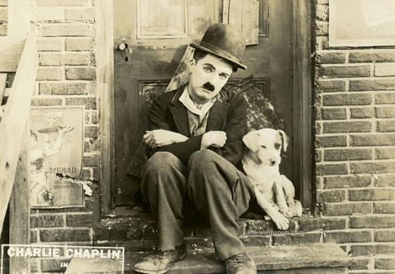 Charlie Chaplin comes to Brandon
