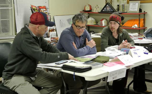 """""""Tabletop"""" exercise helps Killington Search and Rescue prepare for emergencies"""