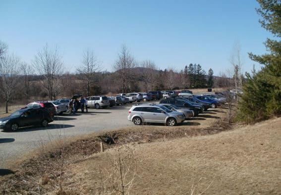 Alert: car break-ins at trailheads
