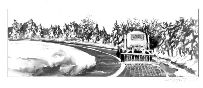 The Outside Story: For roads and nature, brine is better