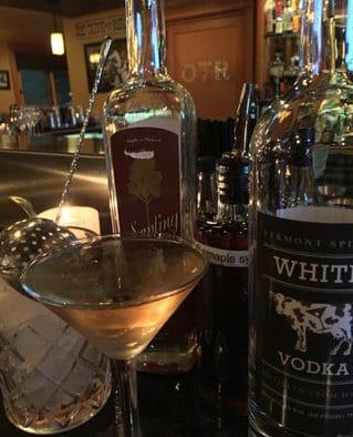 The Cocktail Corner: Sugar-on-Snow martini