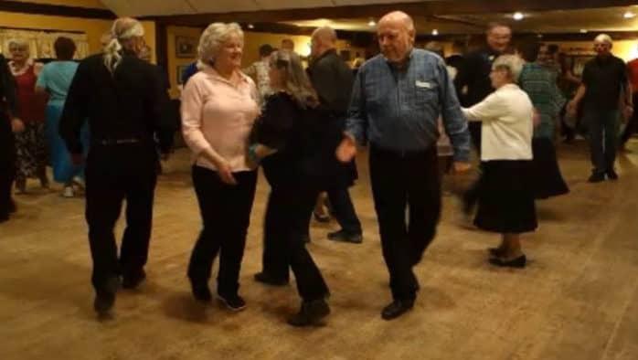 Cast Off 8s club brings square dancing to Ludlow Auditorium