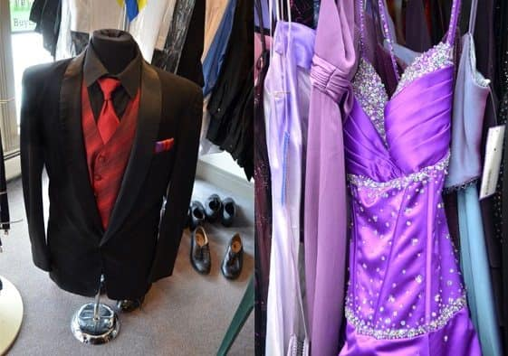 Prom fashion: Slim-fit tuxedos, camo vests, bling and ballet