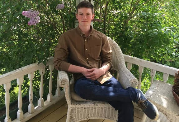 Home schooled Wallingford teen gets a head start on college