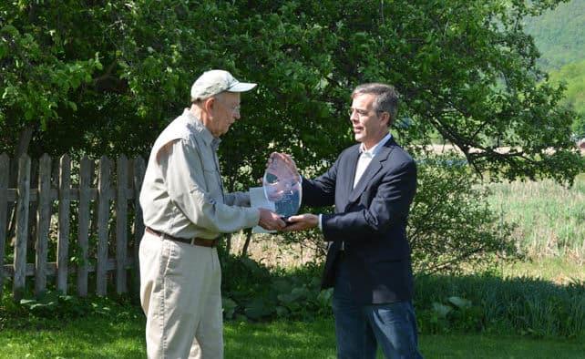 Rutland's Roy Pilcher wins GMP-Zetterstrom Environmental Award