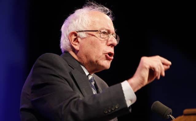Bernie's bid is no laughing matter