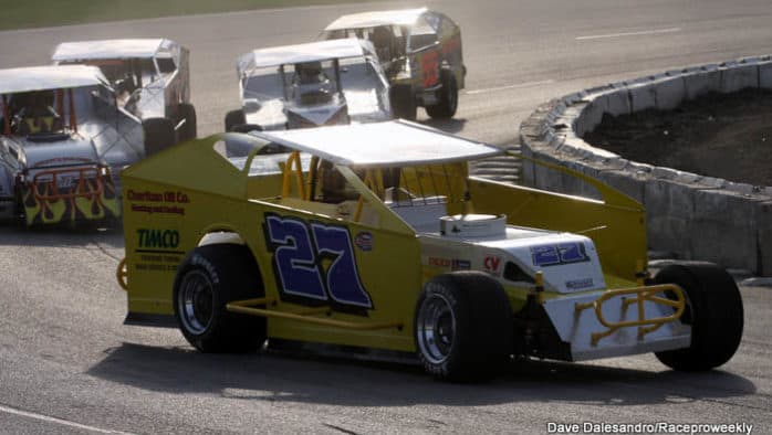Veteran drivers dominate Devil's Bowl Speedway season opener
