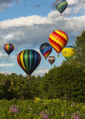 Balloon festival paints the Quechee sky in 36th year