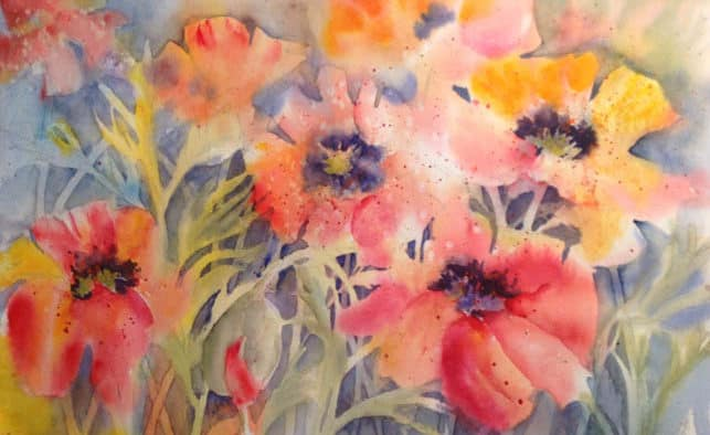 "Sally Hughes presents exhibit, ""Watercolor for the Senses"""