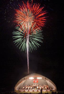 VSO presents picnics, pops, and fireworks at the Mountain Top Inn & Resort