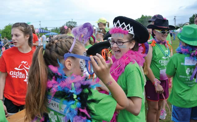Girls on the Run celebrates fun and fitness