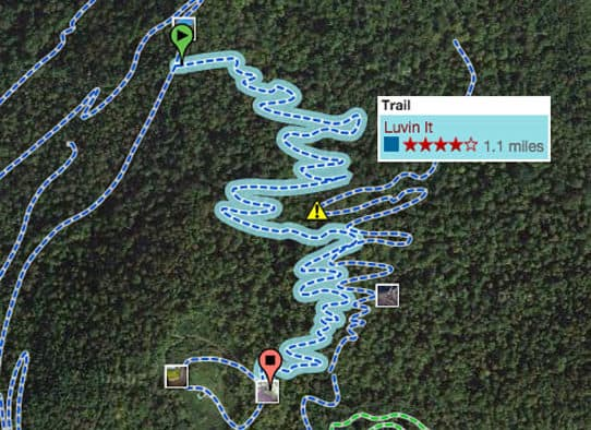 "Trail of the week: ""Luvin It"""