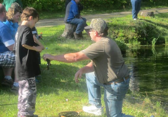 Annual Fran Renner Youth Fishing Derby a success