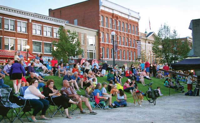 Friday nights heat up in Downtown Rutland