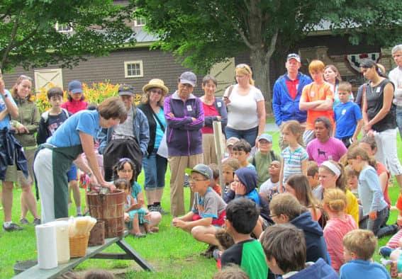 Billings Farm & Museum celebrates National Ice Cream Day