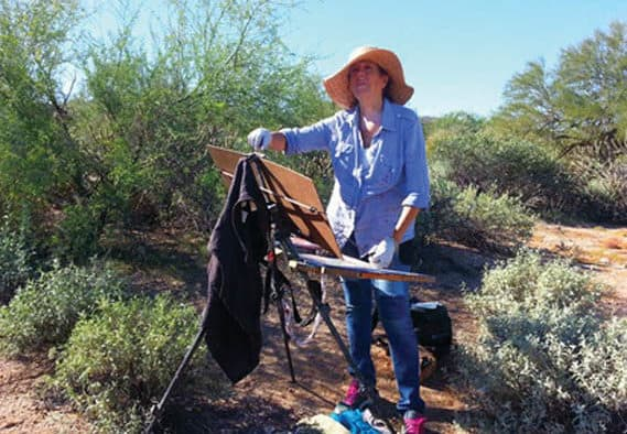 Chaffee presents plein air workshop with Cynthia Rosen