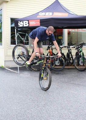 Graham Cook takes over head bike mechanic at True Wheels Bike Shop