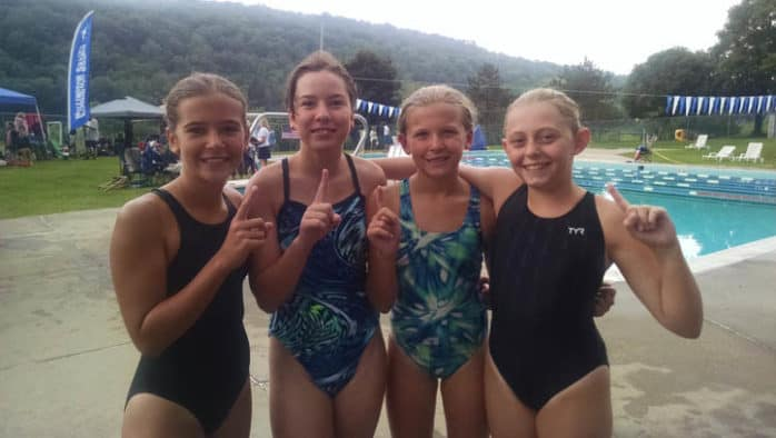 "Killington Sharks competitive swimming is ""taking their mark"""