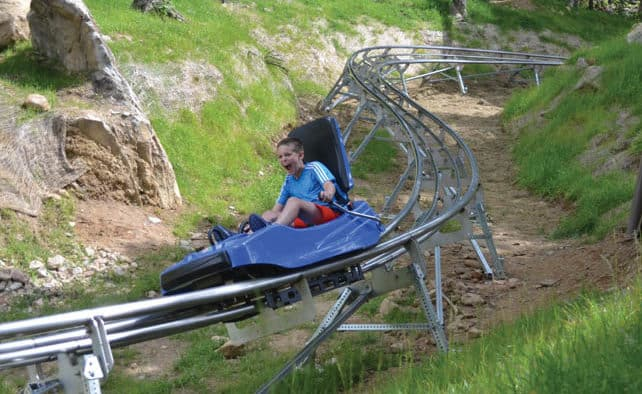 New Beast Mountain Coaster thrills riders