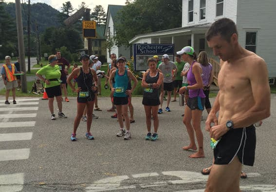 100 on 100 racers challenged by distance, terrain and weather