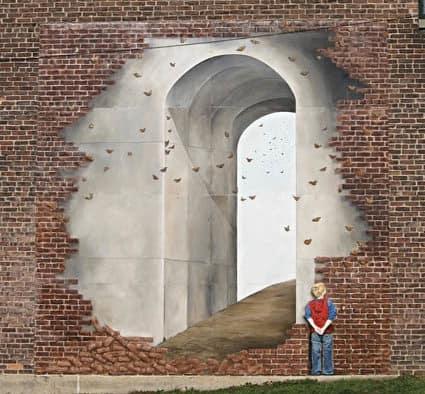 """Rutland Muralist"" featured at Castleton Downtown Gallery"