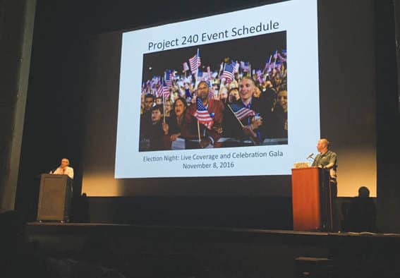 Project 240 aims to elevate public discourse