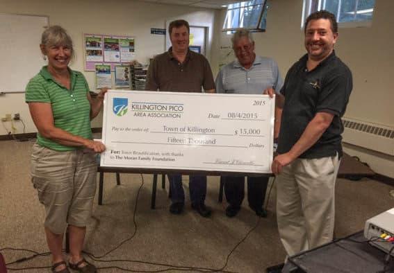 Moran Family Foundation donates $15,000 to KPAA to beautify Killington